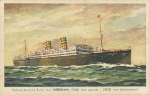 Holland America Line Steamer T.S.S. Veendam (1930s) I