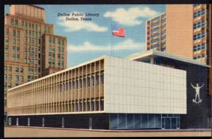 Texas DALLAS Dallas Public Library - LINEN