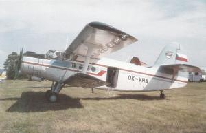 HORIZONT AIR, AN-2, unused Postcard