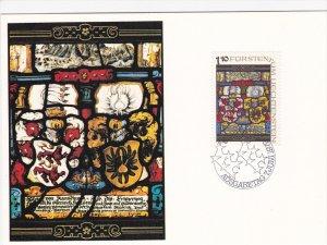 Heraldic Punes from the Liechtenstein National Museum, Stamp Issue 7th Marc...