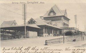 SPRINGFIELD , Massachusetts , 1901-07 ;  Railway Station