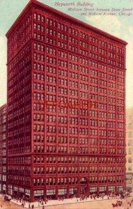 HEYWORTH BUILDING, Madison Street CHICAGO, IL 1910