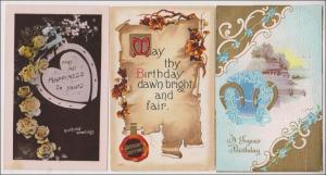 3 - Birthday Cards