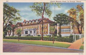 Illinois La Grange Illinois Masonic Home Curteich