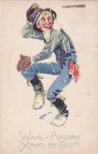 Christmas Waal-A Merry Xmas Be Gum 1925 Gibson