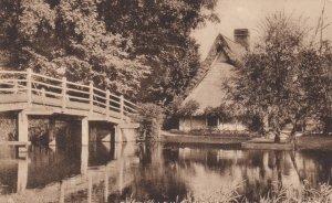 FLATFORD , Suffolk , England, 00-10s ; Bridge & Cottage ; TUCK