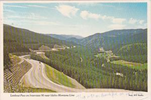Idaho Lookout Pass On Interstate 90
