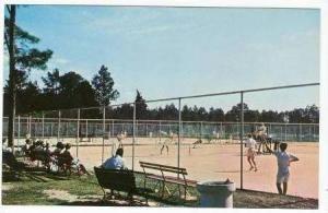Tennis Matches at Pinehurst, North Carolina, Country Club 50-60s