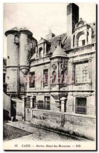 Caen - Hotel Old Coins - Old Postcard
