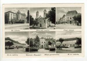 6-view postcard, Kassa, Ungarn - Hongrie, 1910s