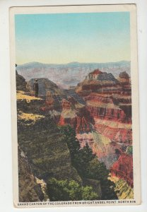 P2188 vintage postcard grand canyon of the colorodo bright angel point northrim