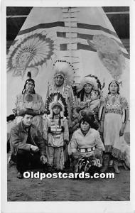 Stoney Indians Indian Writing on back