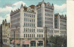 LOS ANGELES, California, 1900-10s ;  Auditorium