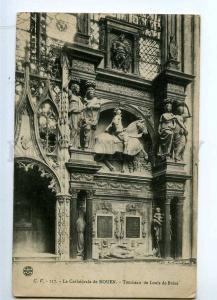 235614 FRANCE ROUEN Tombeau Louis de Breze Tomb Vintage PC