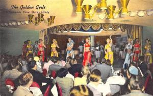 Reno NV The Golden Casino The Golden Girls Floor Show Postcard