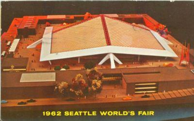 1962 Seattle World's Fair, 1962 used Postcard