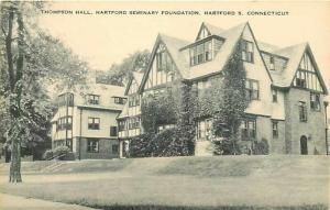 CT, Hartford, Connecticut, Seminary Foundation, Thomson Hall, Artvue