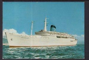 RHMS Amerikanis Steamer Chadris America Lines BIN