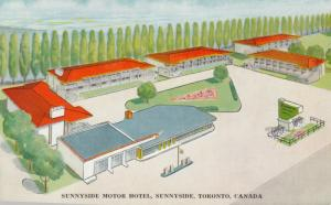 TORONTO , Ontario, Canada, 40-60s ; Sunnyside Motor hotel