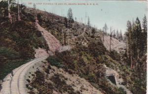 Loop Tunnels 14 and 15, SHASTA ROUTE, S. P. R. R., Washington, PU-1908