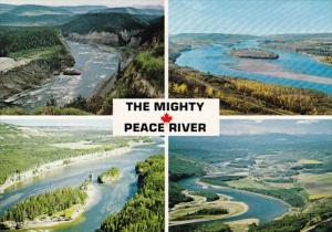 Canada Alberta The Mighty Peace River Mutli View