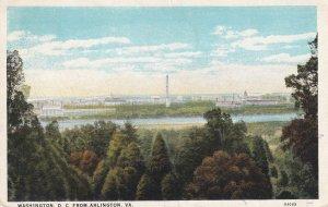 ARLINGTON, Virgiania, PU-1928; Washington D.C. From Virginia