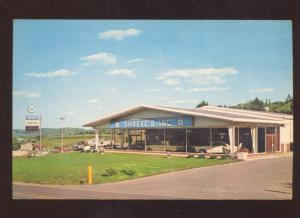 CLARKSBURG WEST VIRGINIA PLYMOUTH CHRYSLER CAR DEALER ADVERTISING POSTCARD