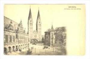 Bremen , Germany  , 00-10s : Rathaus, Dom und Borse