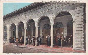 Florida Saint Petersburg Outdoor Post Office 1928