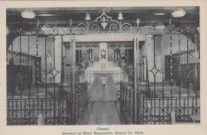 Michigan Detroit Convent Of Mary Reparatrix Chapel Albertype
