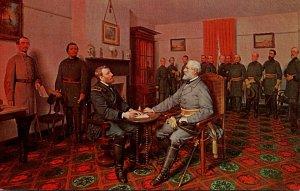 Surrender Of General Lee To General Grant 9 April 1865 1962