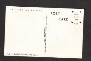 TX Kemp Hotel Wichita Falls Texas Postcard