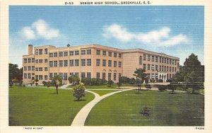Senior High School Greenville, South Carolina