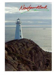 Cape Spear National Historic Site Newfoundland, Lighthouse, Large 5 X 7 Postcard