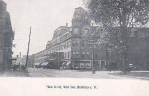 BRATTLEBORO , Vermont , 00-10s ; Main Street , West Side