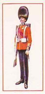 Carreras Vintage Cigarette Card Military Uniforms 1976 No 33 Sergeant 1902 Co...