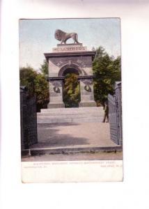 Lion, Sebastopol Monument, Pleasant St Halifax, Nova Scotia, Used 1906