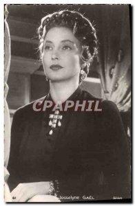 Postcard Modern Cinema Josselyne Gael