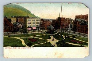 Johnstown PA-Pennsylvania, Central Part, Vintage Postcard