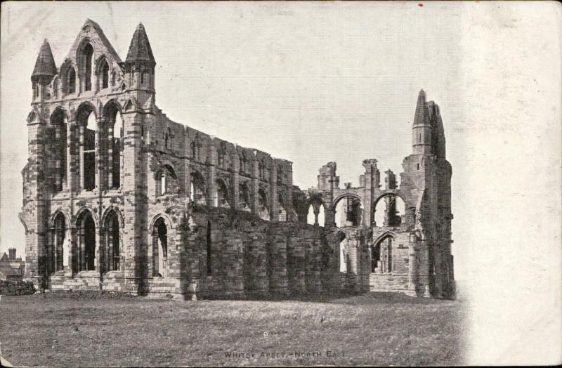 Whitby Abbey north east church UK