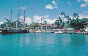 Lahaina Harbour, Maui, Hawaii, 1960-70s