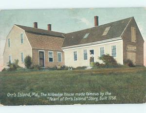 Divided-Back HISTORIC HOME Orr'S Island - Casco Bay - Near Portland ME W4924