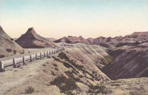 South Dakota Wall Chief Big Foot Pass Badlands National Monument Albertype