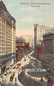 Broadway, Bowling Green New York City NY Unused