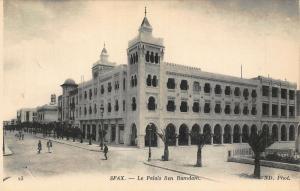 Tunisia Sfax Le Palais ben Ramdam Postcard