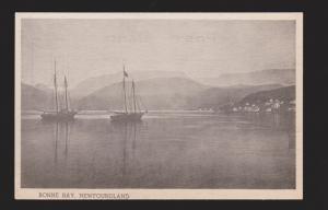 NEWFOUNDLAND - Schooners In Bonne Bay - 1950s - Unused
