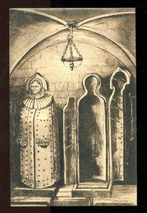 5279 - GERMANY Nuernberg c1907-10 Eiserne Jungfrau Iron Maiden Torture Chamber