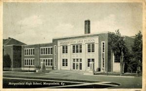 KY - Morganfield. Morganfield High School