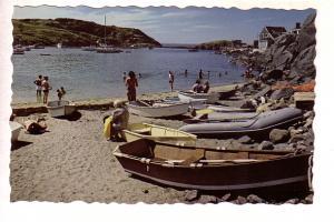 Beach at Monhegan Island, Maine, Photo Hastings, Row Boats, Canoes etc.