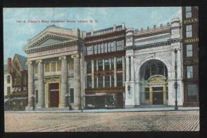 100711 USA Two of Albany's Many Handsome Banks Albany N.Y